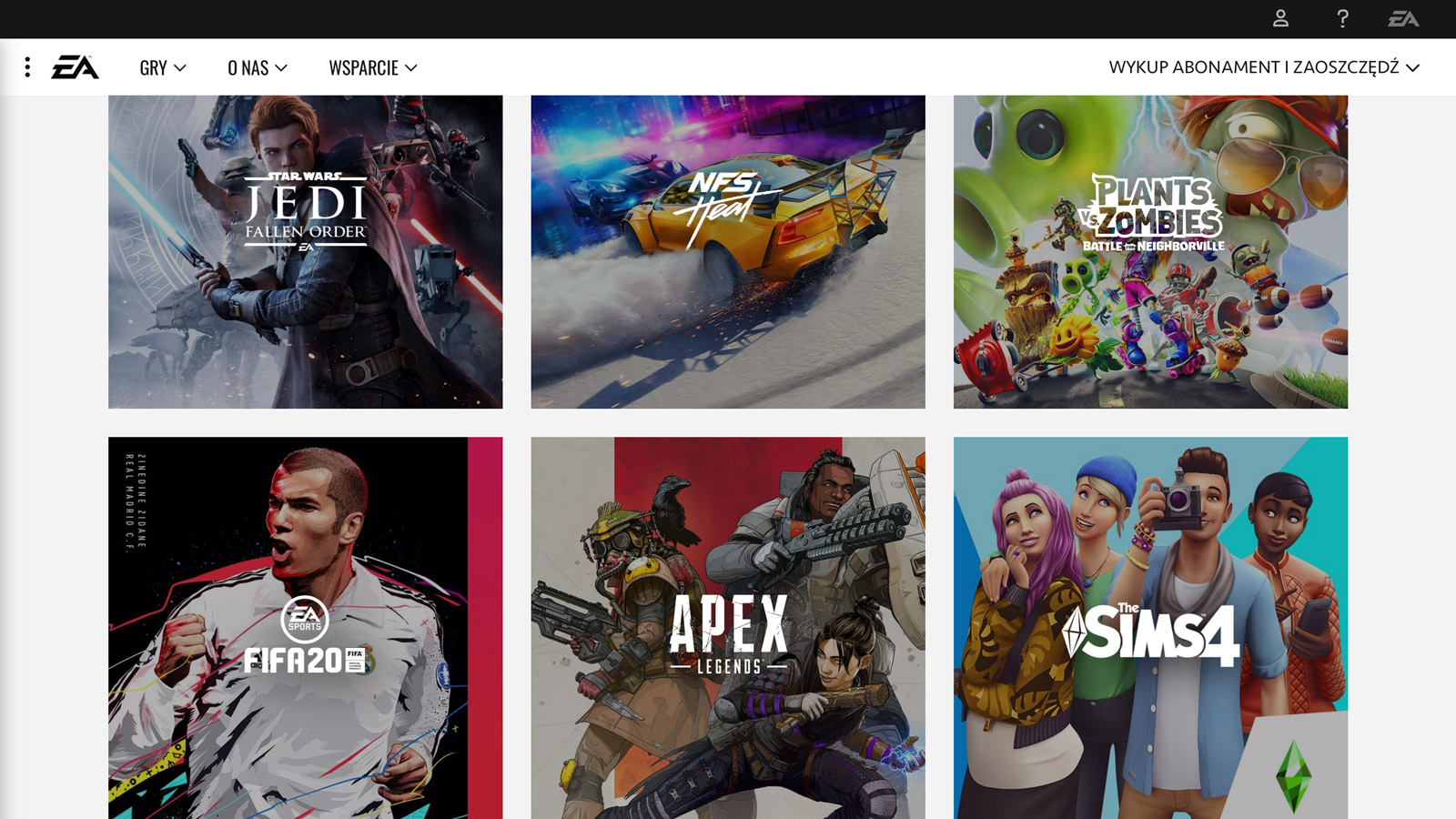"""Popularny producent gier """"ELECTRONIC ARTS"""" - z nowąagencją w Polsce agencja mediarun ea electronic arts www 2019"""