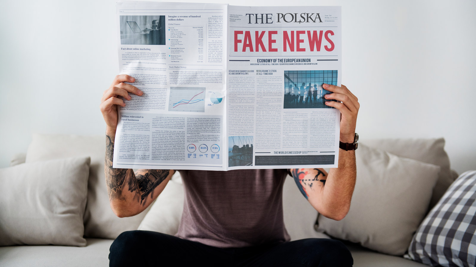 Walka z FAKE NEWS w Polsce Kampania mediarun fake news polska 2019