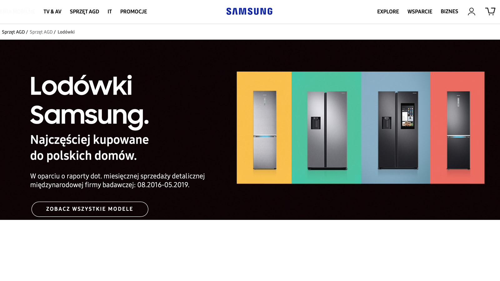 Samsung rozpoczyna współpracę - rewolucja w e-zakupach? Samsung mediarun samsung www lodowki frisco www 2019
