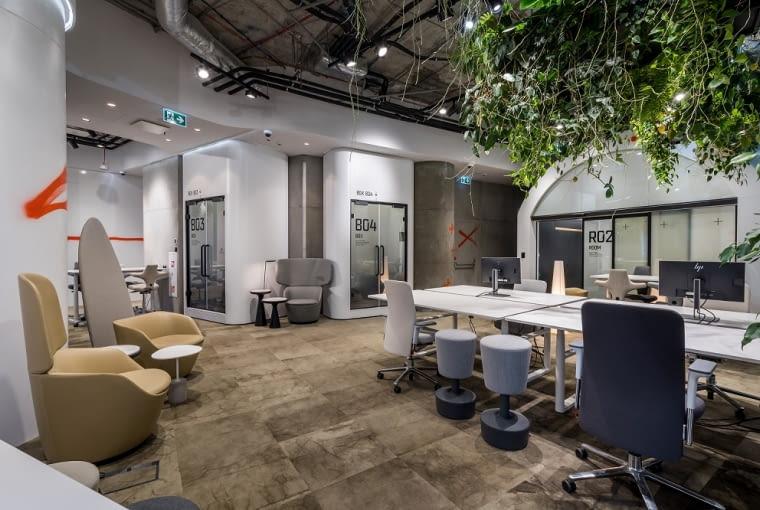 Zobacz EKO biuro dla tworzących przyszłość Biuro rbl projektwnetrza robertmajkutdesign 8 mail