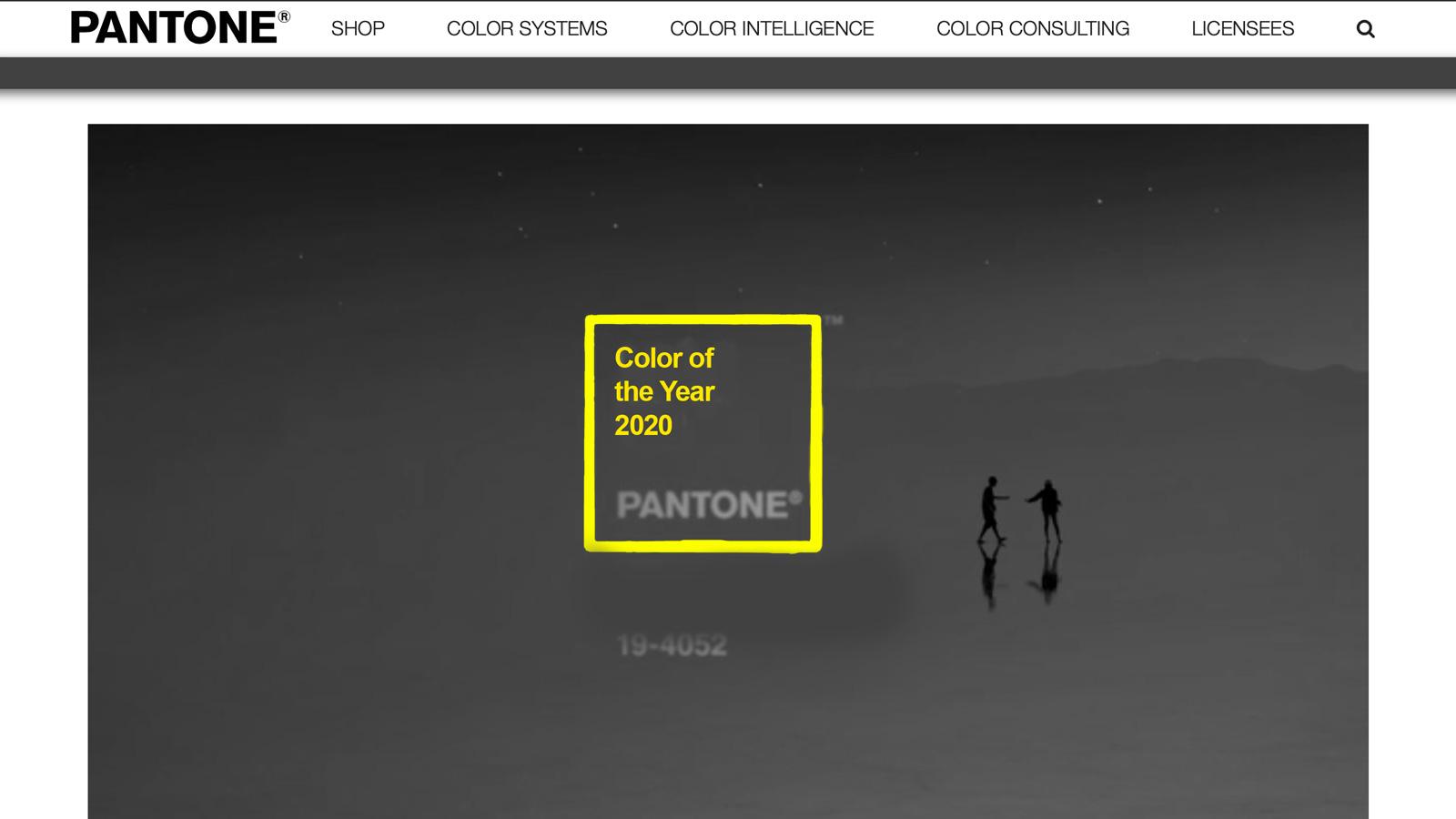 PANTONE ogłosił kolor roku 2020 kolory mediarun kolor roku 2020 PANTONE www 1