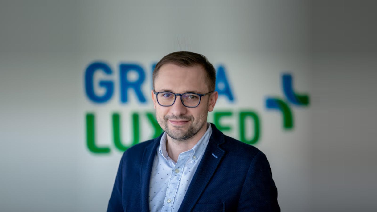 Grupa LUX MED z nowym Dyrektorem komunikacji korporacyjnej i PR Lux Med