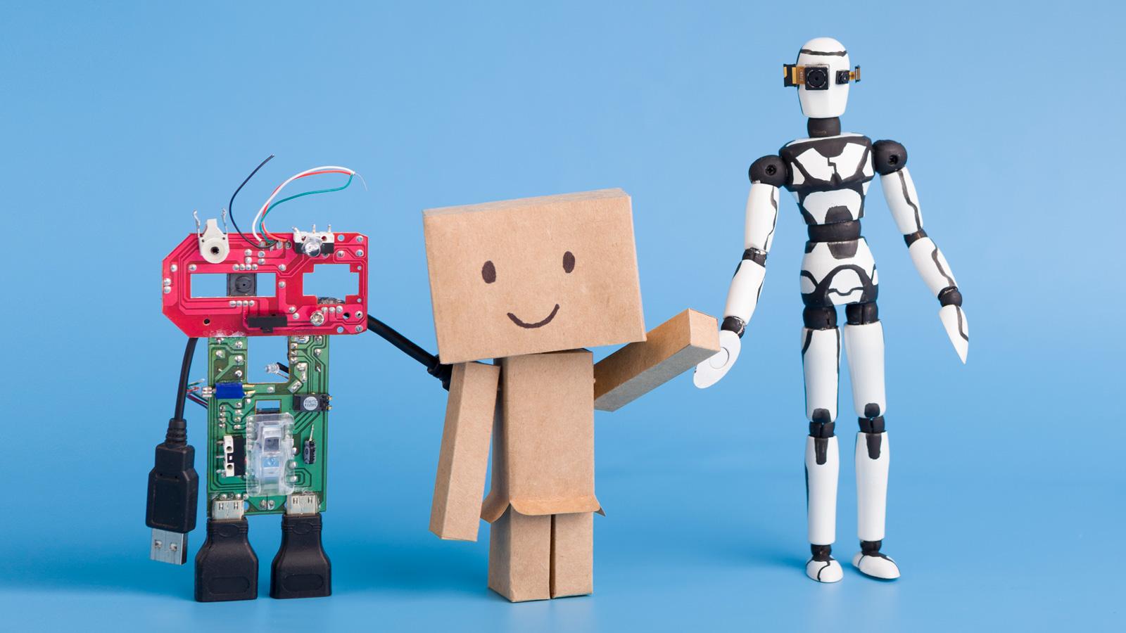 AI dla firm – 5 najważniejszych trendów AI mediarun ai robot 2020