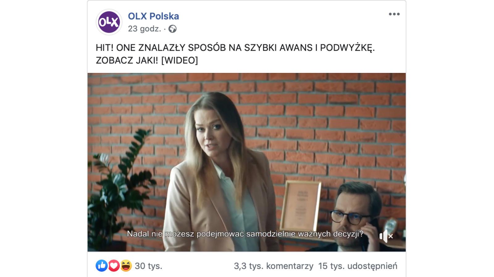 Kampania OLX hitem w Dzień Kobiet Kampania