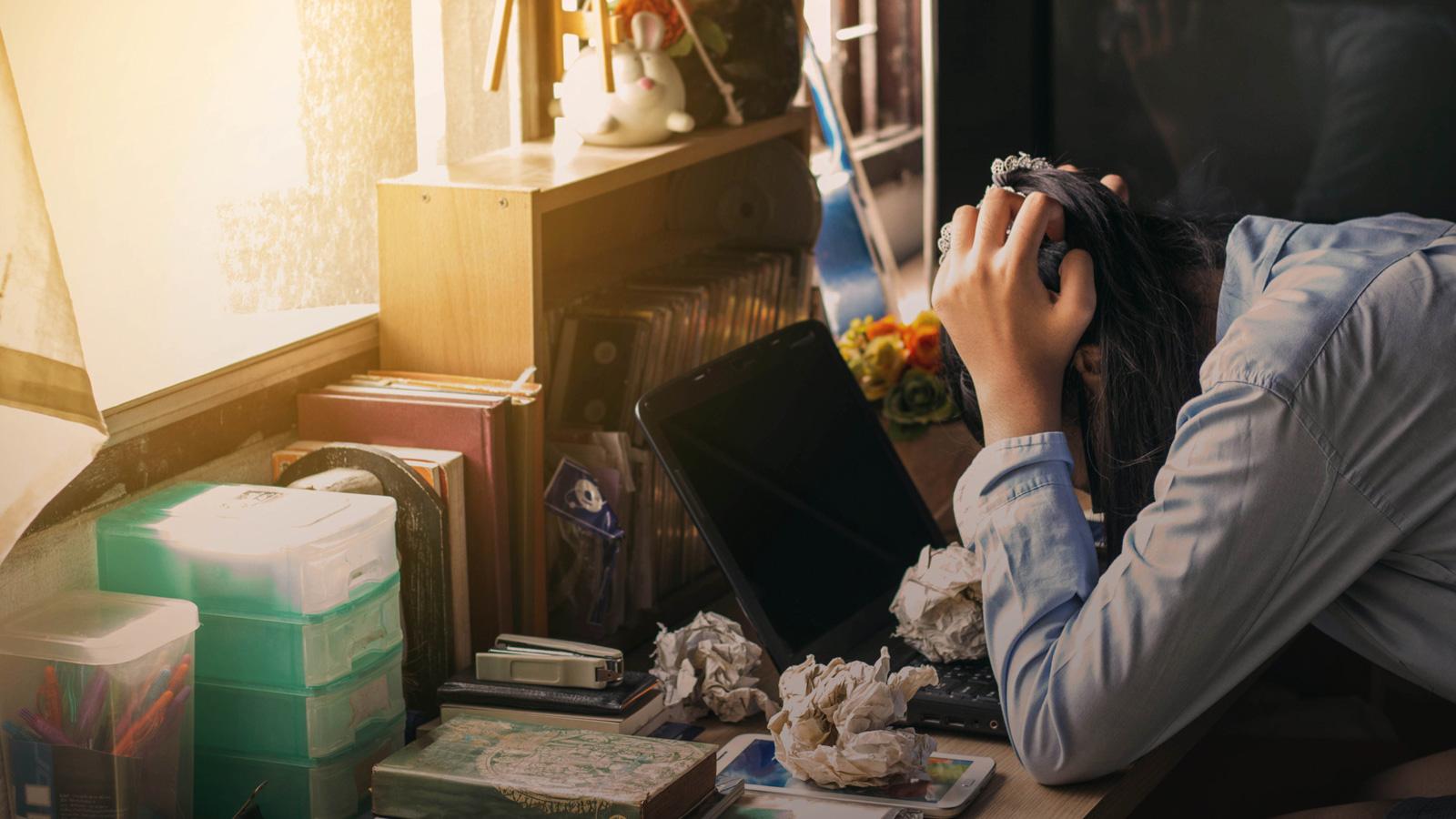 Nie daj się stresowi zostając w domu Praca zdalna mediarun stress work 2020