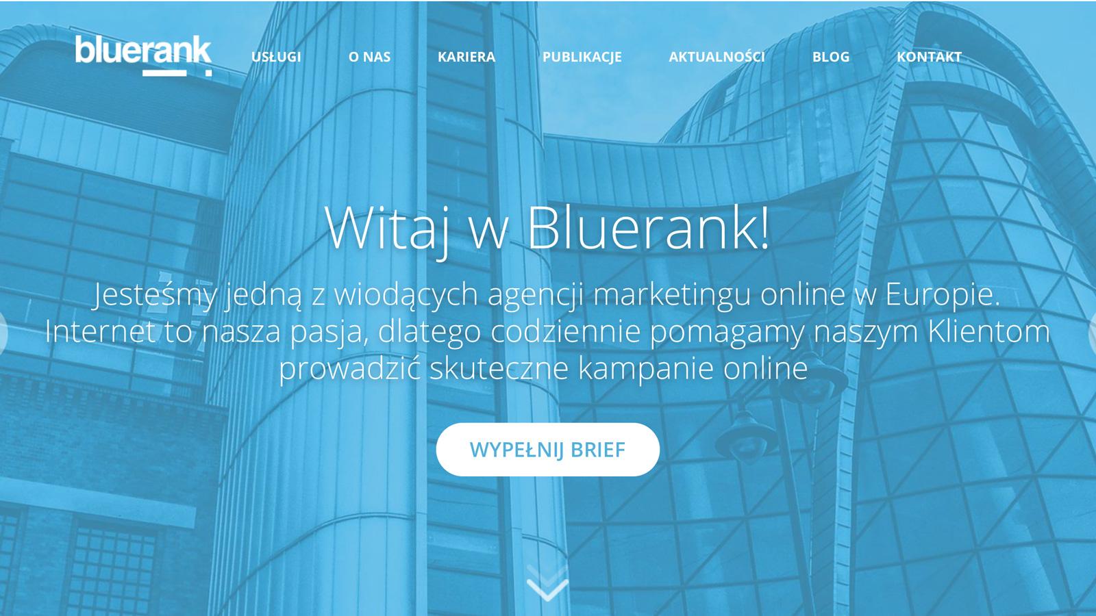 Bluerank prezentuje nową identyfikację wizualną Branding mediarun bluerank wizerunek identyfikacja nowa 2020