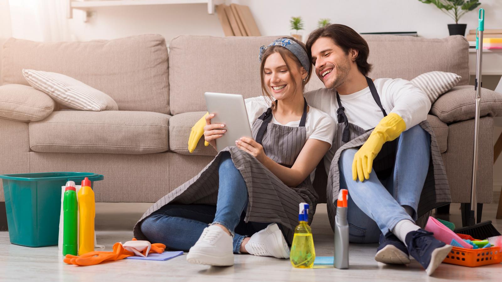 Wiosenne zakupy przeniosły się do internetu Finanse mediarun dom wiosna porządki 2020