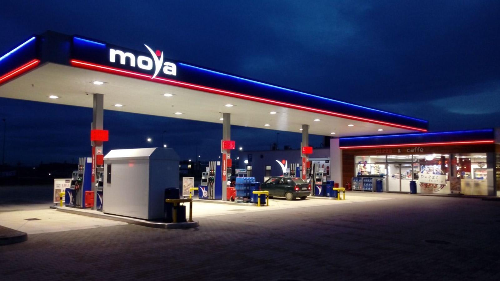 Właściciel marki MOYA przejmie sieć stacji paliw Biznes mediarun moya stacja paliw 2020