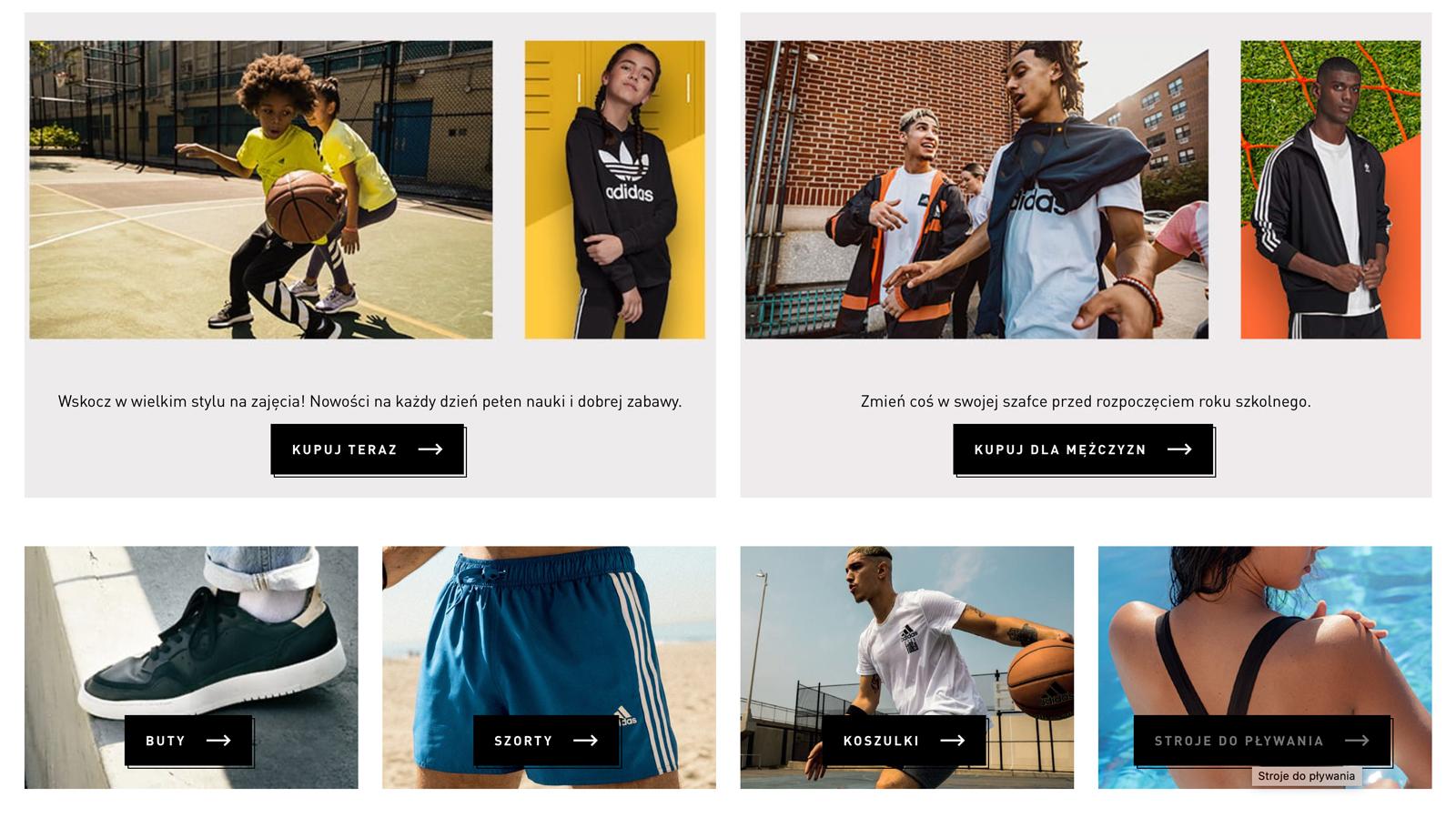 ADIDAS rozstrzygnął przetarg VMLY&R mediarun adidas sport odziez agencja przetarg 2020