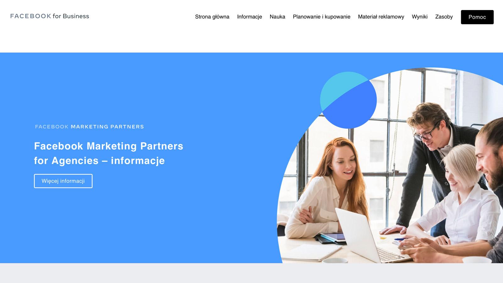 Facebook rozpoczyna współpracę z kluczowymi agencjami w Polsce Social media mediarun facebook socialmedia biznes bluerank 2020