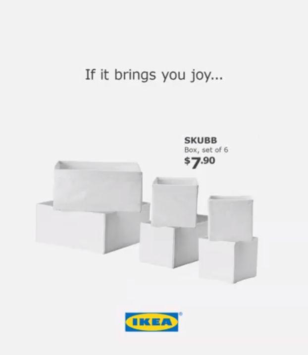 Zobacz najlepsze przykłady RTM IKEA! Facebook mediarun ikea mariekondo1