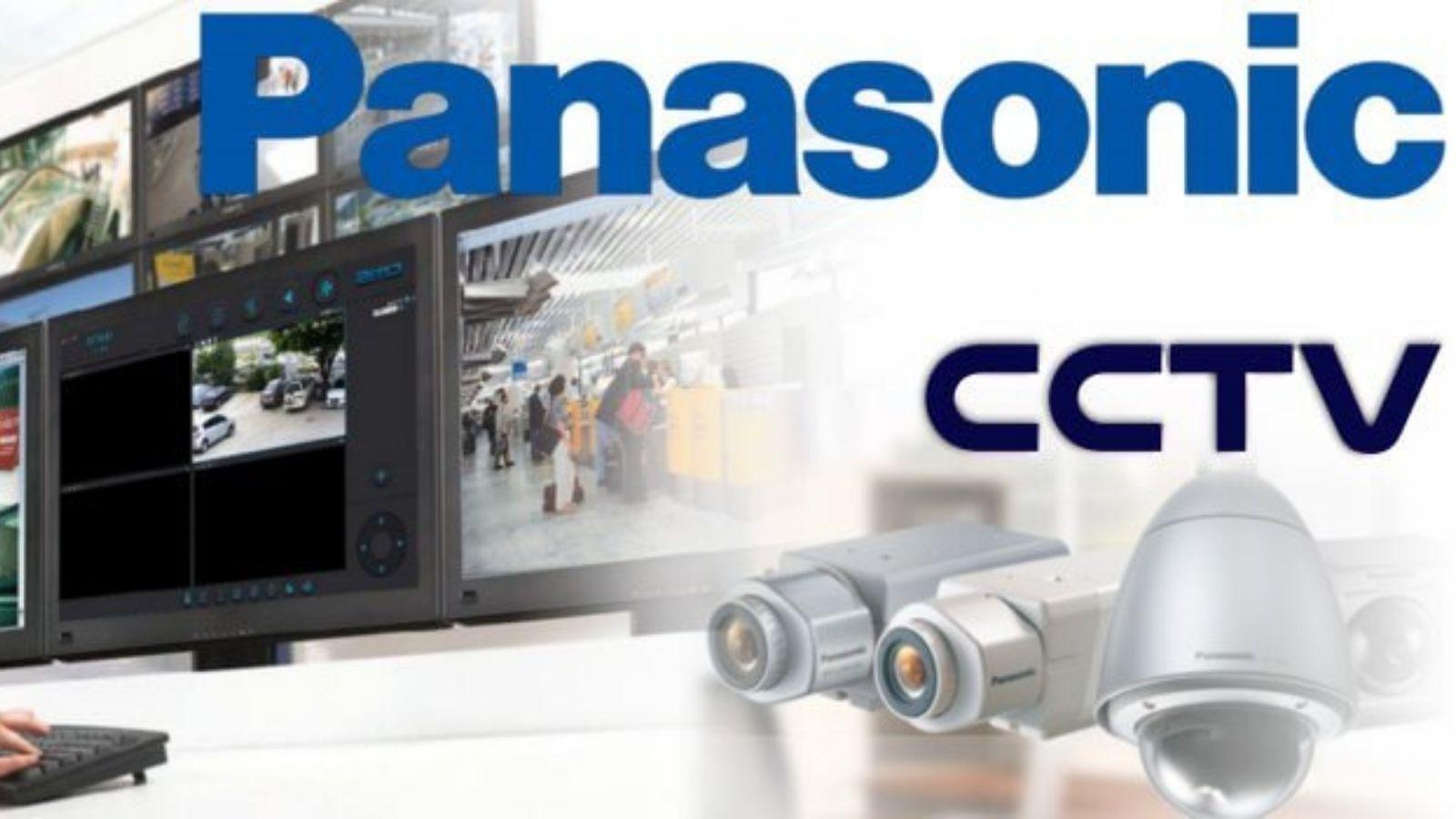 PANASONIC z nowym logo Logo mediarun com cctv