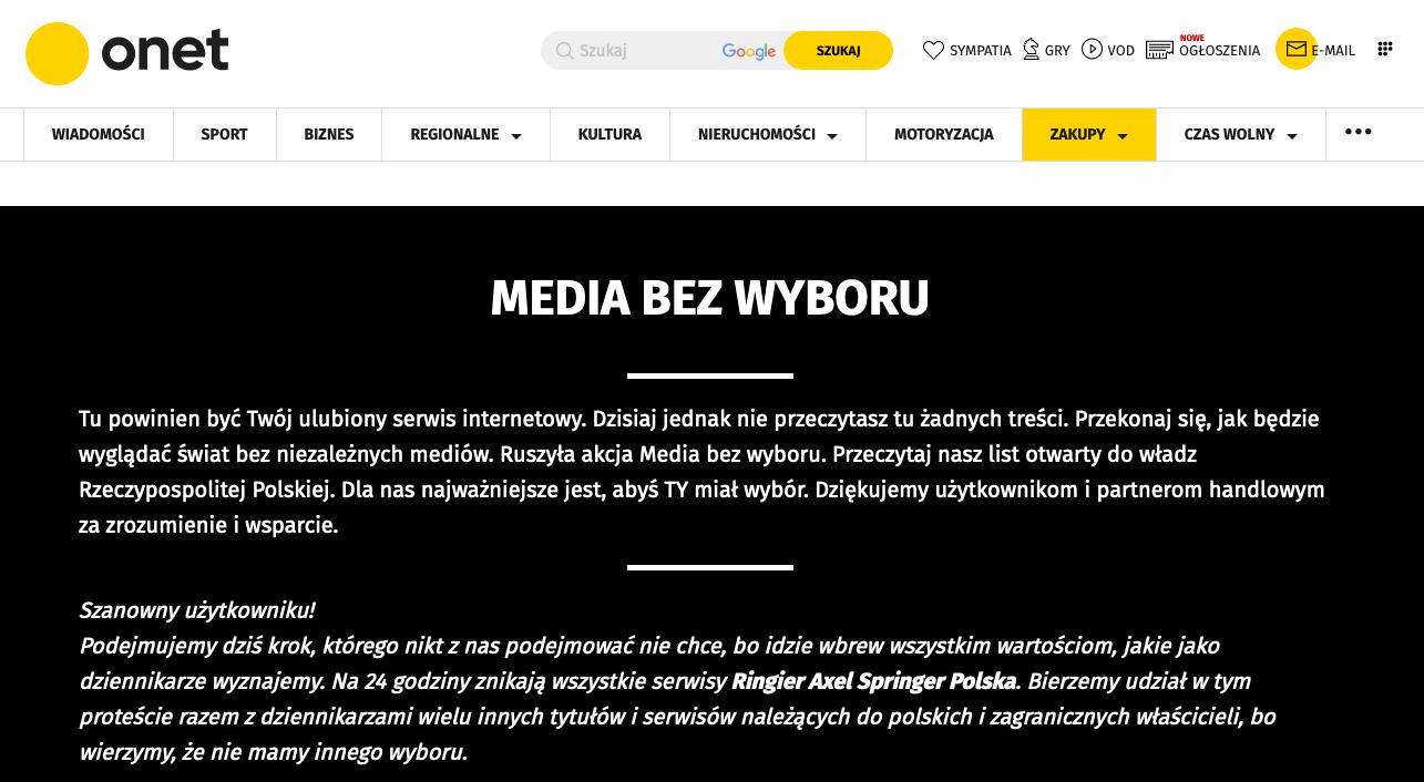 MEDIA BEZ WYBORU media bez wyboru Zrzut ekranu 2021 02 10 o 11.56.30