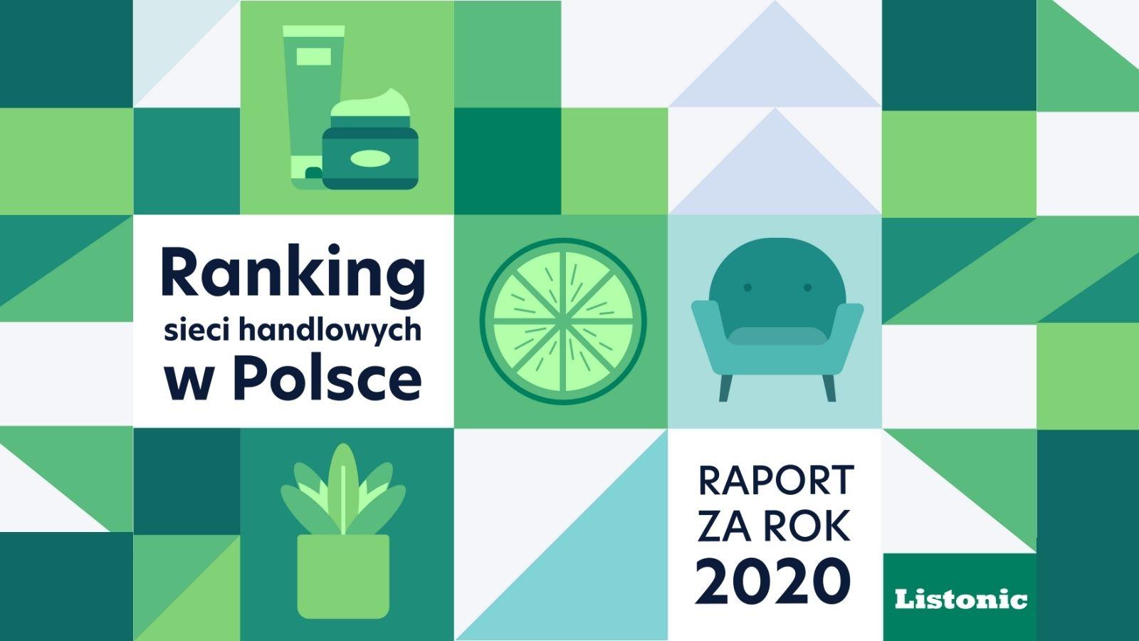 Które marki Polacy wybierali najczęściej w 2020 roku? [RAPORT] Lidl mediarun listonic