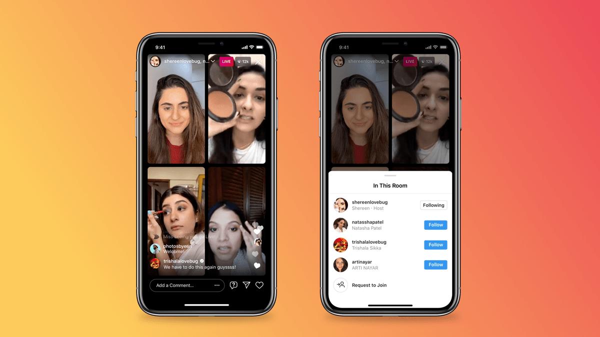 Instagram z nową funkcją - skorzystają influencerzy! influencer marketing mediarun com ins rooms 3