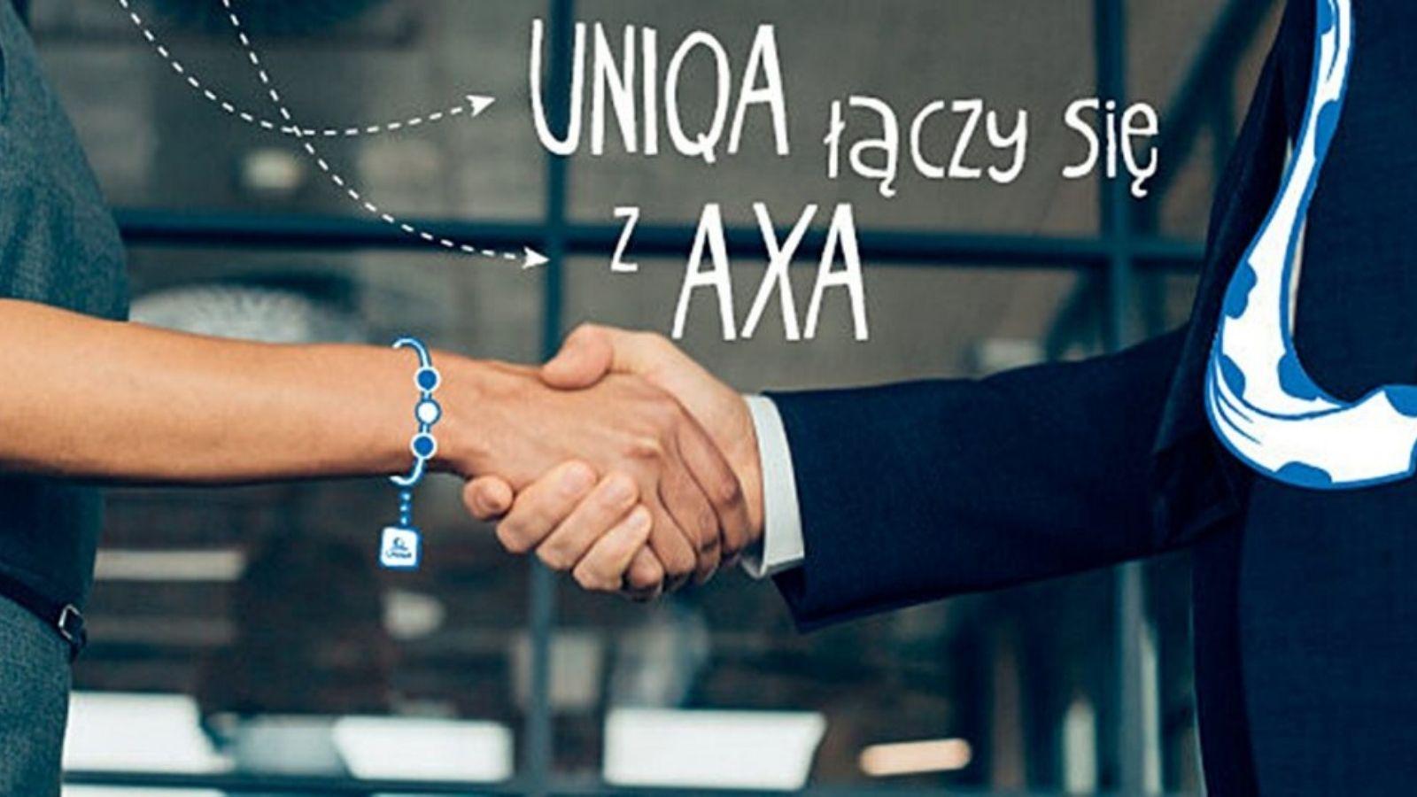 UNIQA i AXA razem pod brandem UNIQA! Rebranding mediarun uniqa