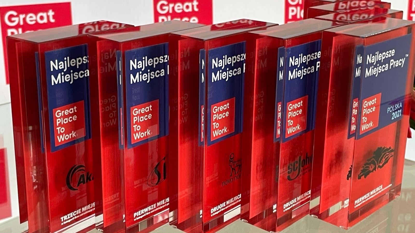 Great Place to Work® ogłosił listę Najlepszych Miejsc Pracy Polska 2021 Konkursy mediarun great place to work