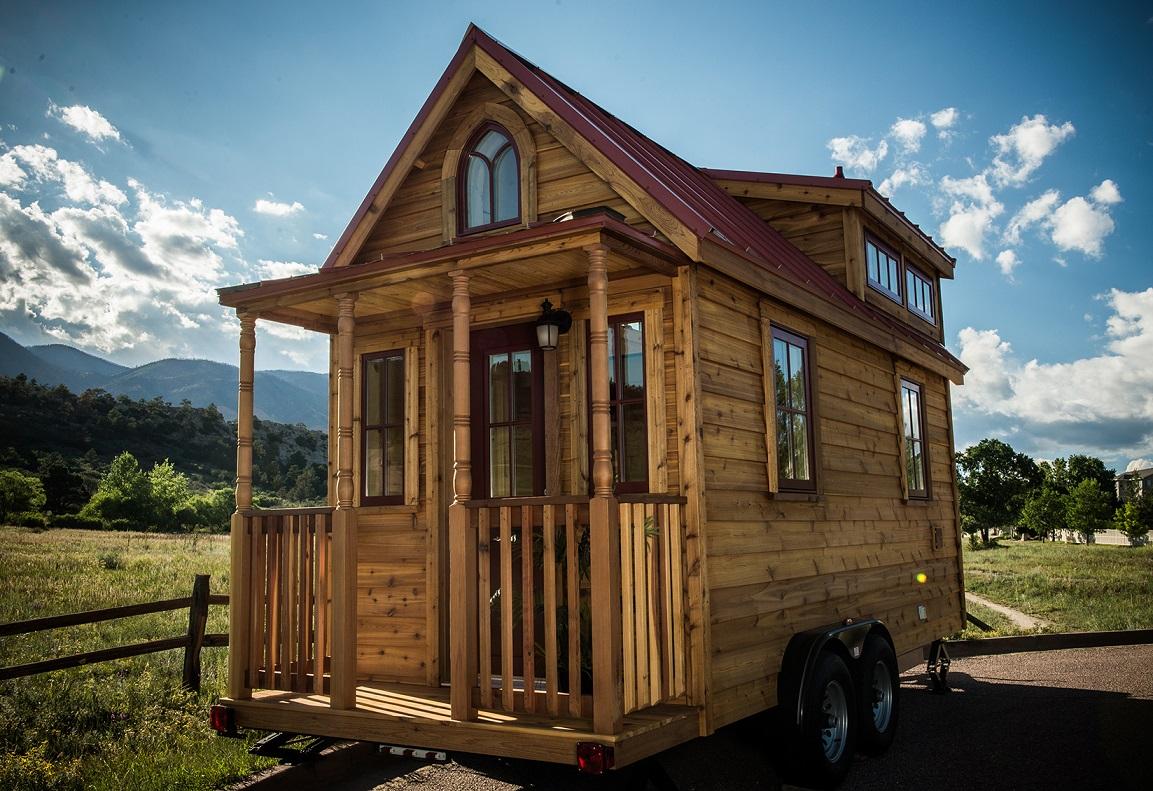 Projekt The Elm, mobilny dom o powierzchni 10,8 m kw., koszt około 35 tys. USD, źródło Tumbleweed(1)