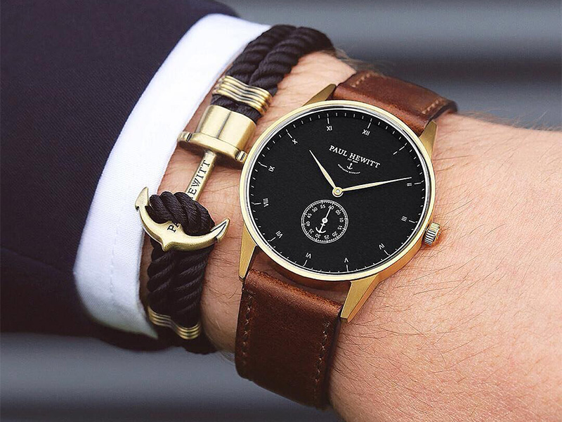 Jak dobrać zegarek do garnituru? Paul Hewitt JAKI ZEGAREK DO GARNITURU PAUL HEWITT 2