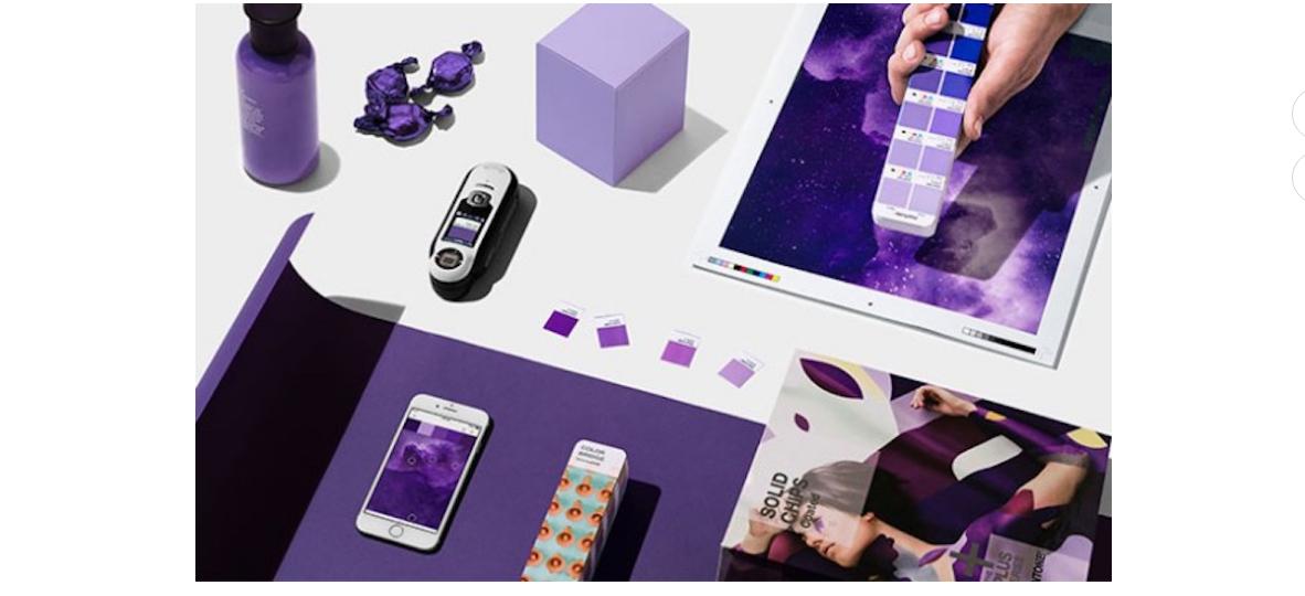 Ujawniamy kolor roku 2018! Art and Design Mediarun ultra violet pantone 2018 screenshot