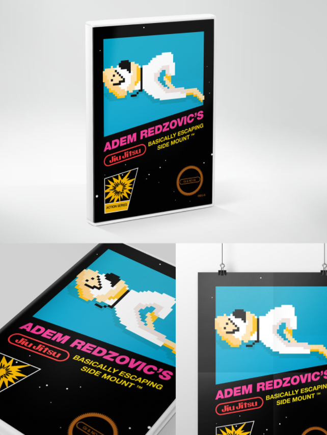 Plakaty które mogą inspirować Design Poster design for Adem Redzovic.