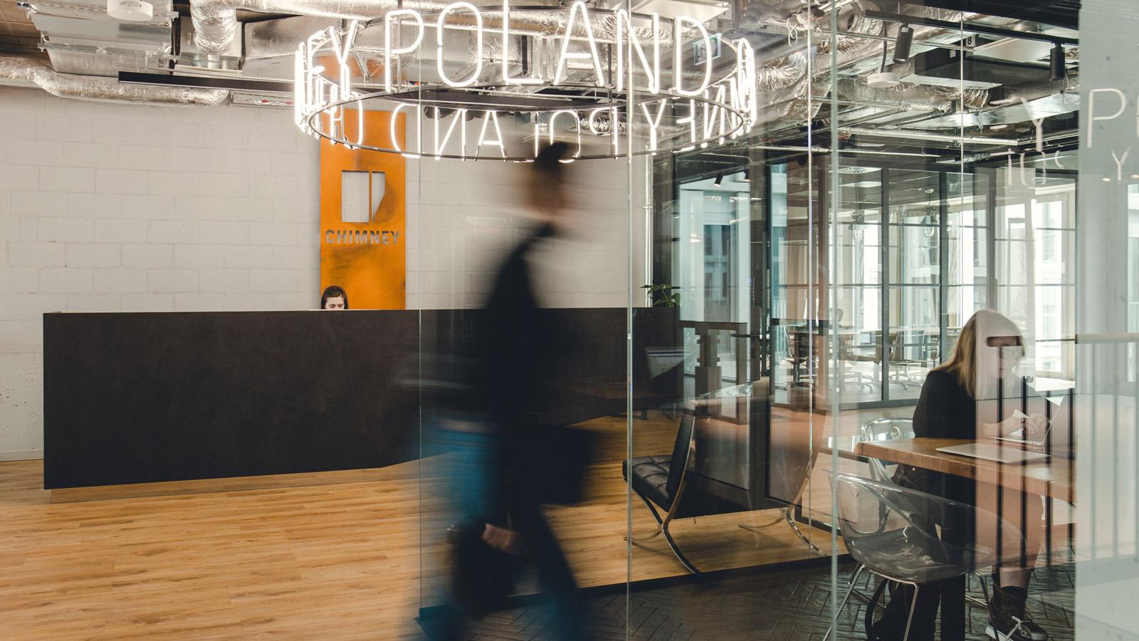 Najlepsze biura w Polsce Biura chimney poland biuro w branzy kreatywnej 1