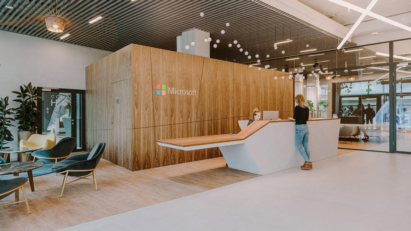 Najlepsze biura w Polsce Biura microsoft sp z oo biuro w branzy technologicznej 1