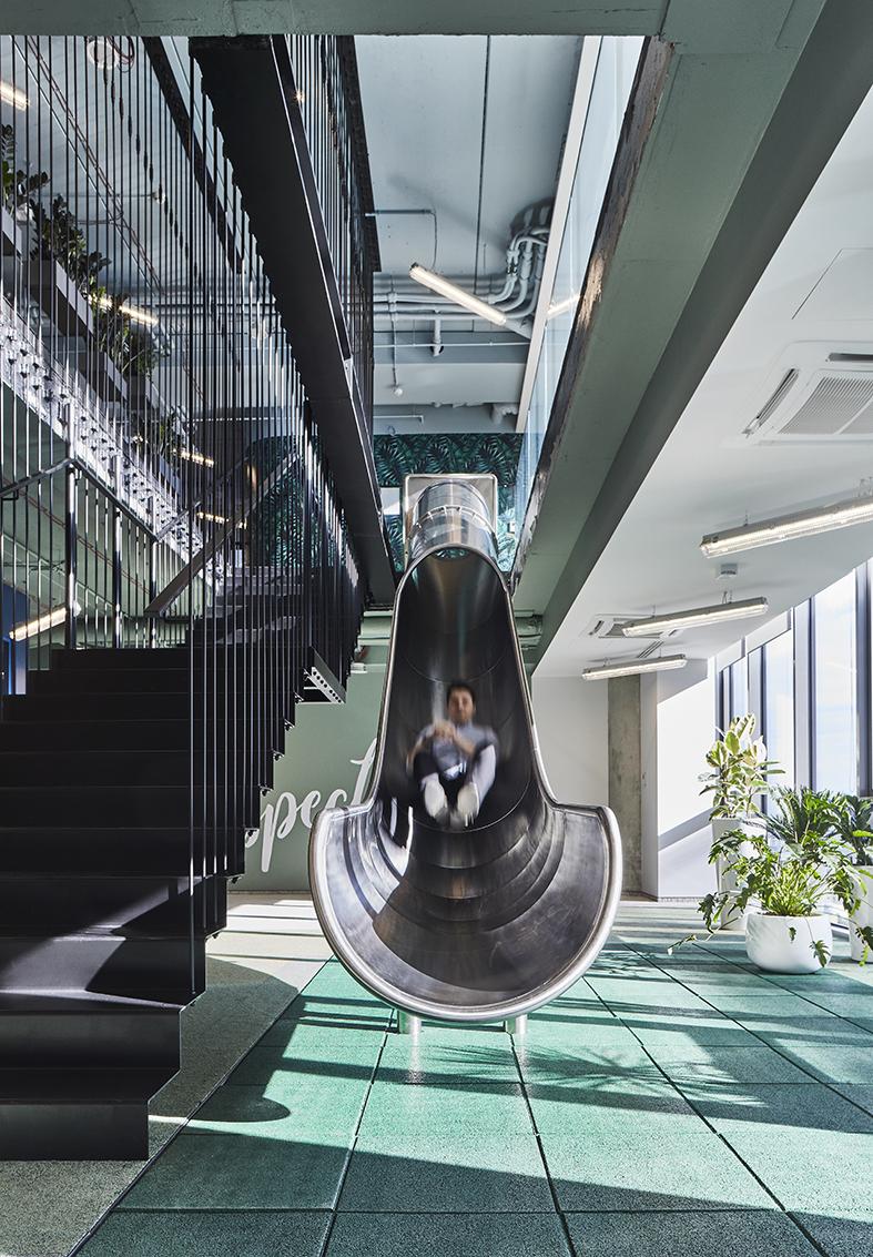 Najlepsze biura w Polsce Biura sii sp z oo przestrzen rekreacyjna 1