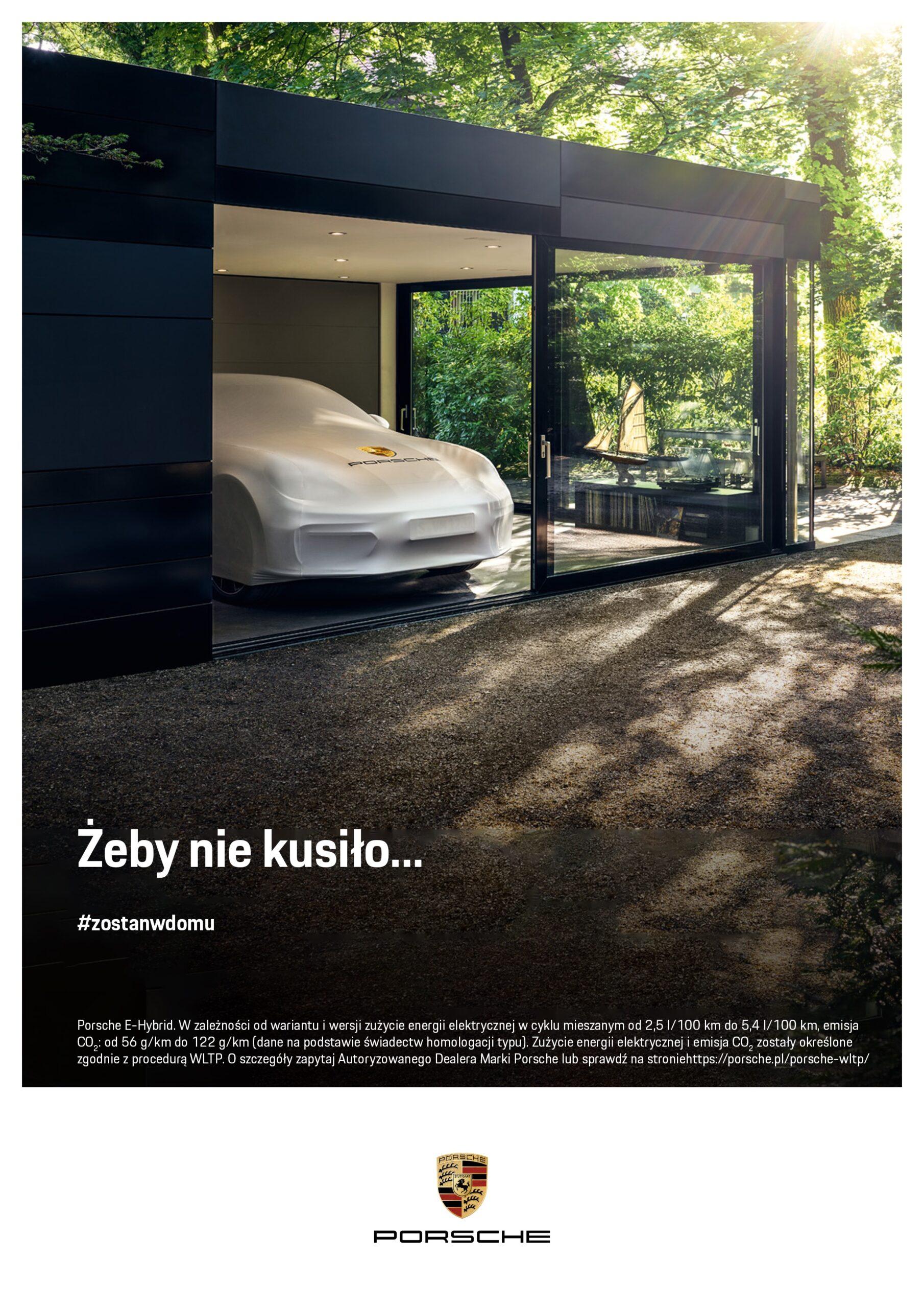 """mediarun Porsche Zostań w domu Żeby nie kusiło 132 scaled brand Porche Polska z nową kampanią reklamową – """"Żeby nie kusiło!"""""""