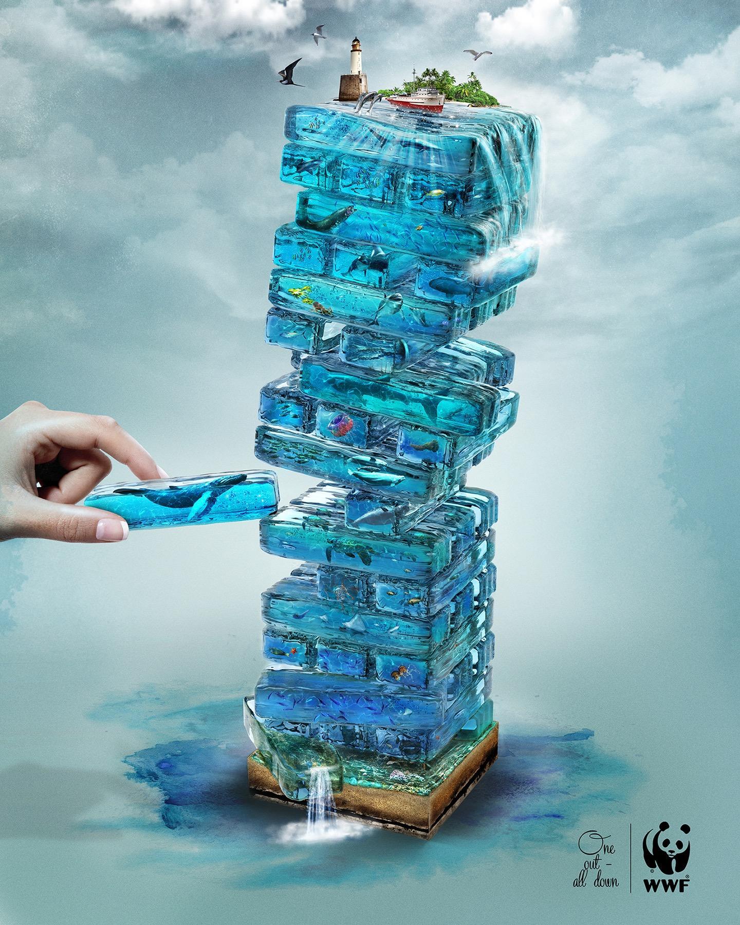 W trosce o planetę! Zobacz najlepsze kreacje WWF [GALERIA] ekologia mediarun wwf blue