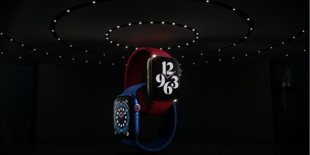 """Apple - 9 premier i nowości sygnowanych hasłem """"Time Flies"""" Apple apple watch series 6"""
