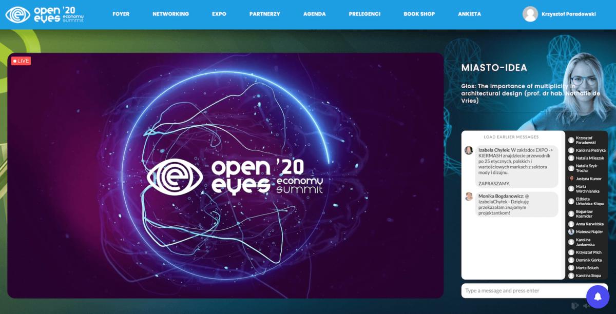 Rekordowy event w czasach pandemii [CASE STUDY] CMA Open Eyes Economy Summit 2020 foto CMA 9